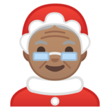 Mrs. Claus: Medium Skin Tone on Google Android 8.0