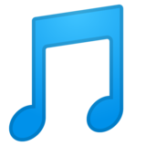 Musical Note on Google Android 8.0