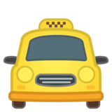 Oncoming Taxi on Google Android 8.0