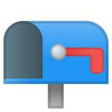Open Mailbox with Lowered Flag on Google Android 8.0