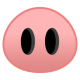 Pig Nose on Google Android 8.0