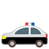 Police Car on Google Android 8.0