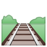 Railway Track on Google Android 8.0