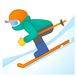 Skier on Google Android 8.0