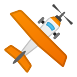 Small Airplane on Google Android 8.0
