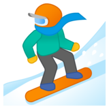 Snowboarder on Google Android 8.0