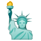 Statue of Liberty on Google Android 8.0