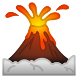 Volcano on Google Android 8.0