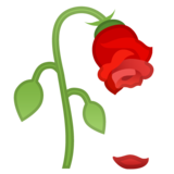 Wilted Flower on Google Android 8.0