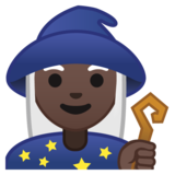 Woman Mage: Dark Skin Tone on Google Android 8.0