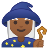 Woman Mage: Medium-Dark Skin Tone on Google Android 8.0