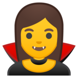 Woman Vampire on Google Android 8.0