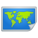 World Map on Google Android 8.0