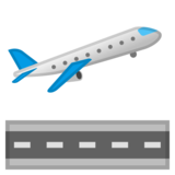 Airplane Departure on Google Android 8.1