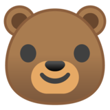 Bear Face on Google Android 8.1