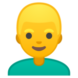 Man: Blond Hair on Google Android 8.1