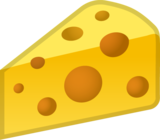 Cheese Wedge on Google Android 8.1