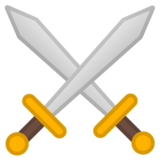 Crossed Swords on Google Android 8.1