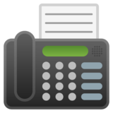 Fax Machine on Google Android 8.1