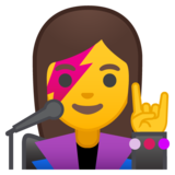 Woman Singer on Google Android 8.1