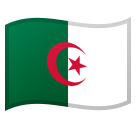 Flag: Algeria on Google Android 8.1