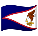 Flag: American Samoa on Google Android 8.1