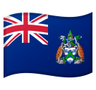 Flag: Ascension Island on Google Android 8.1