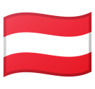 Flag: Austria on Google Android 8.1