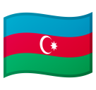Flag: Azerbaijan on Google Android 8.1