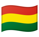 Flag: Bolivia on Google Android 8.1