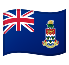 Flag: Cayman Islands on Google Android 8.1