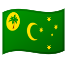 Flag: Cocos (Keeling) Islands on Google Android 8.1