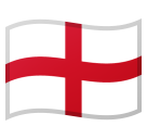 Flag: England on Google Android 8.1