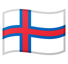 Flag: Faroe Islands on Google Android 8.1