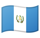 Flag: Guatemala on Google Android 8.1