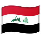 Flag: Iraq on Google Android 8.1