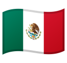Flag: Mexico on Google Android 8.1