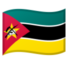 Flag: Mozambique on Google Android 8.1