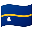 Flag: Nauru on Google Android 8.1