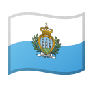 Flag: San Marino on Google Android 8.1
