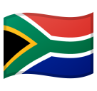 Flag: South Africa on Google Android 8.1