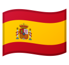 Flag: Spain on Google Android 8.1