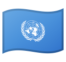 Flag: United Nations on Google Android 8.1