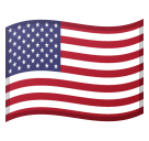 Flag: United States on Google Android 8.1