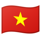 Flag: Vietnam on Google Android 8.1