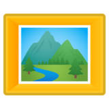 Framed Picture on Google Android 8.1