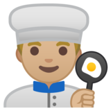 Man Cook: Medium-Light Skin Tone on Google Android 8.1