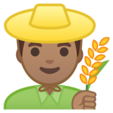 Man Farmer: Medium Skin Tone on Google Android 8.1