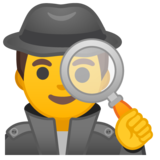 Man Detective on Google Android 8.1
