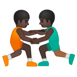 Men Wrestling, Type-6 on Google Android 8.1